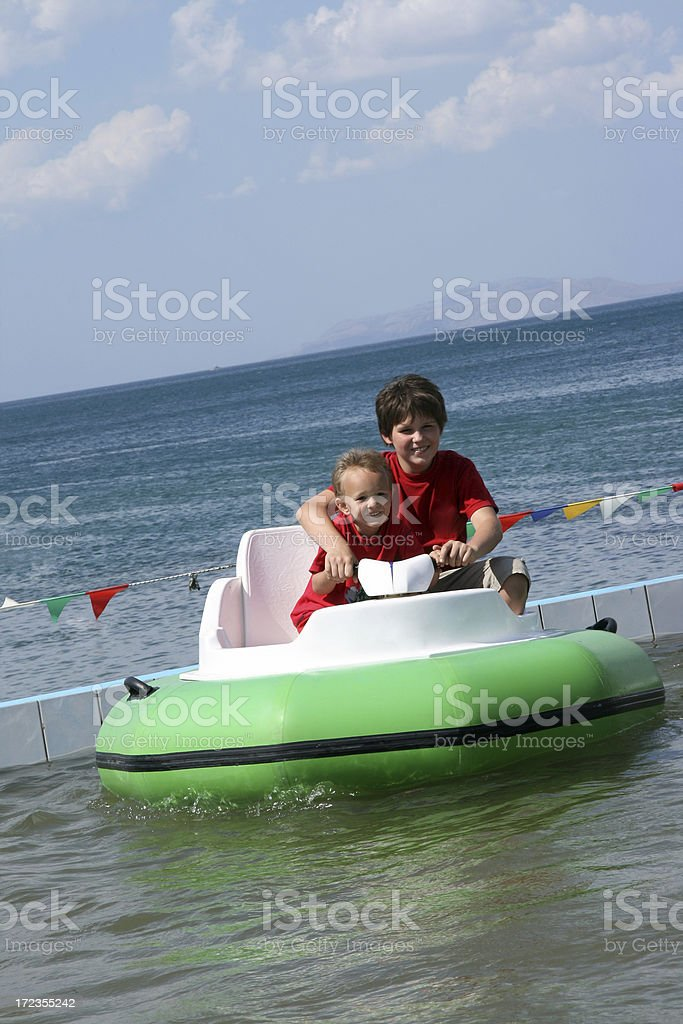 at the sea royalty-free stock photo