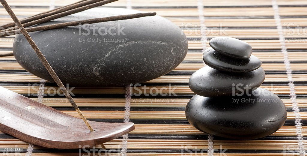 At the Spa center royalty-free stock photo