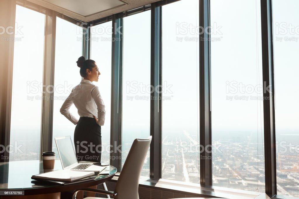 An der Spitze der Business-Welt – Foto
