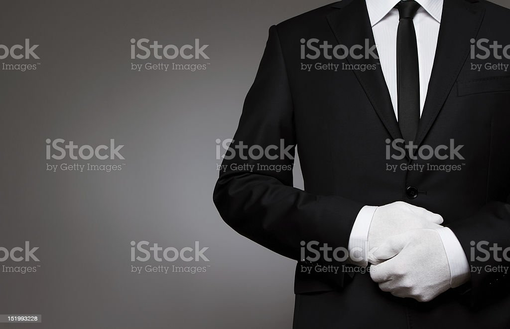 At Your service royalty-free stock photo