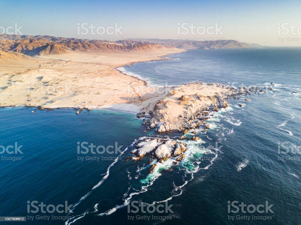 Atacama Desert has amazing beaches like this one called
