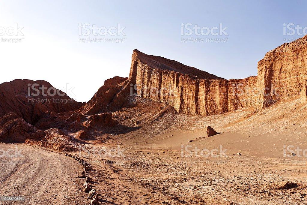Atacama desert. stock photo