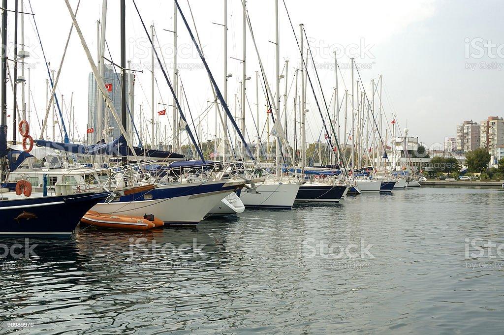 Atakoy marina royalty-free stock photo