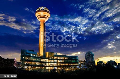 Atakule City Tower from Capital Ankara