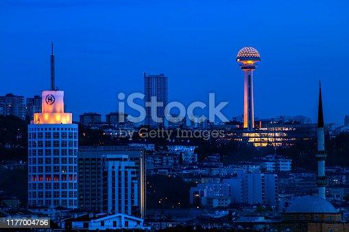 Atakule Famous Tower of Capital City Ankara