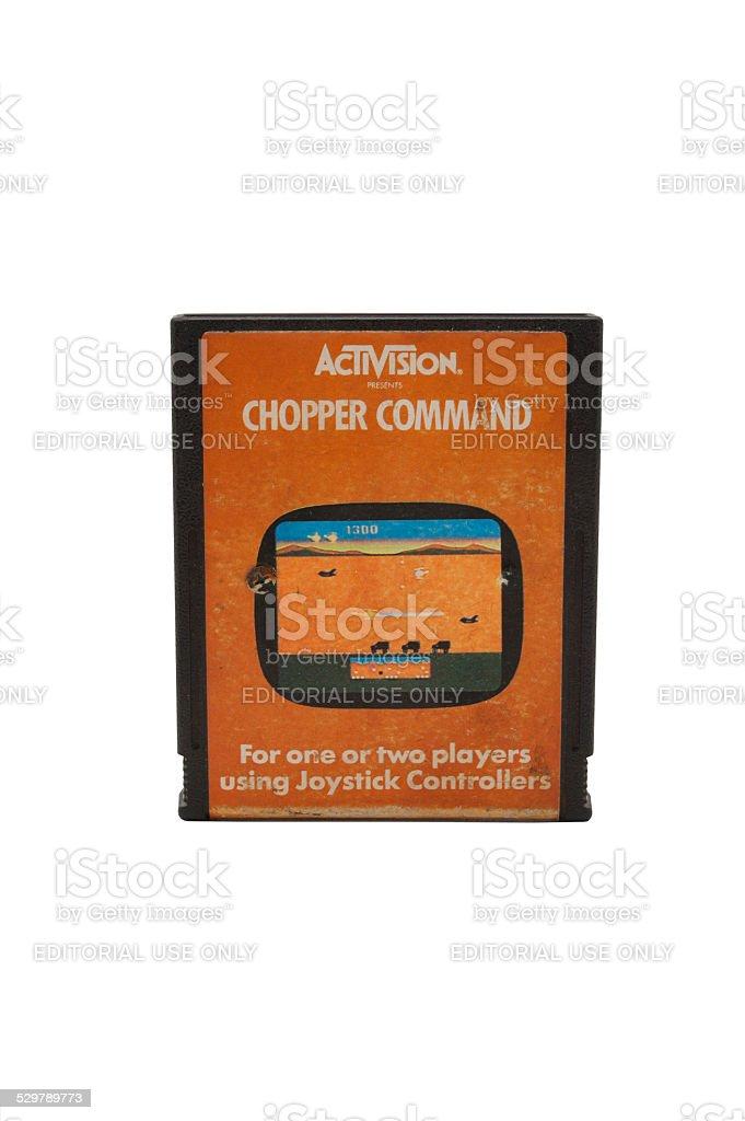 Atari 2600 Chopper Command Patronenhülse – Foto
