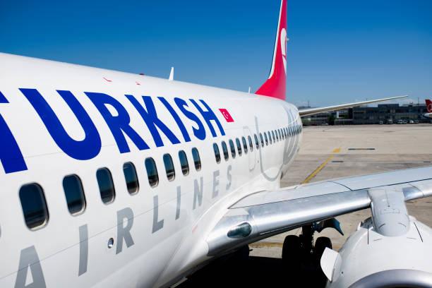 Atatürk International Airport stock photo