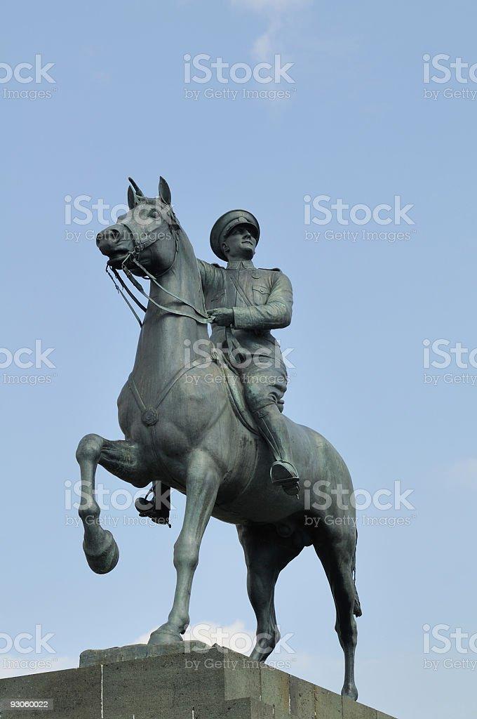 Atatürk Statue Izmir, Turkey stock photo