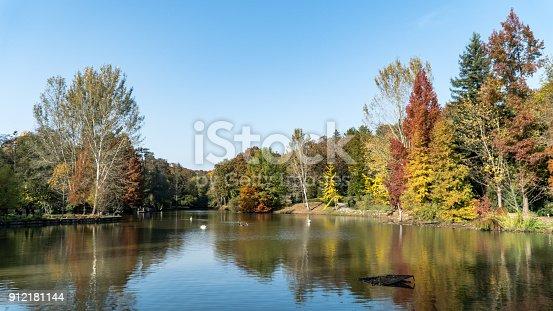 istock Ataturk Arboretum botanic park on Autumn, Istanbul 912181144