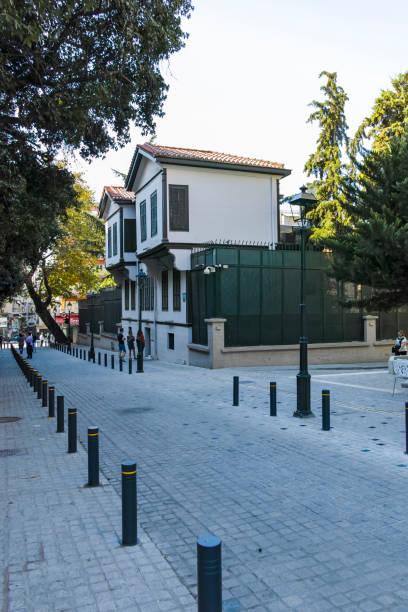 Yunanistan'ın Selanik kentindeki Atatürk Müzesi stok fotoğrafı