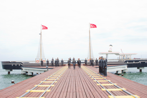 Ataturk's arrival in Samsun