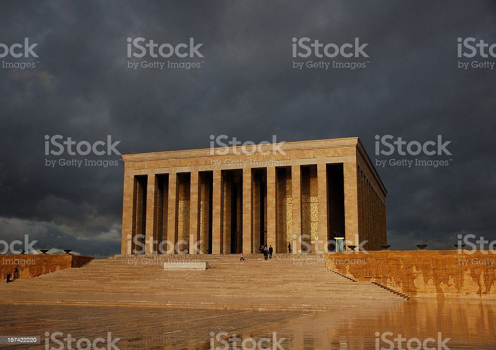 Ataturk's Mausoleum stock photo