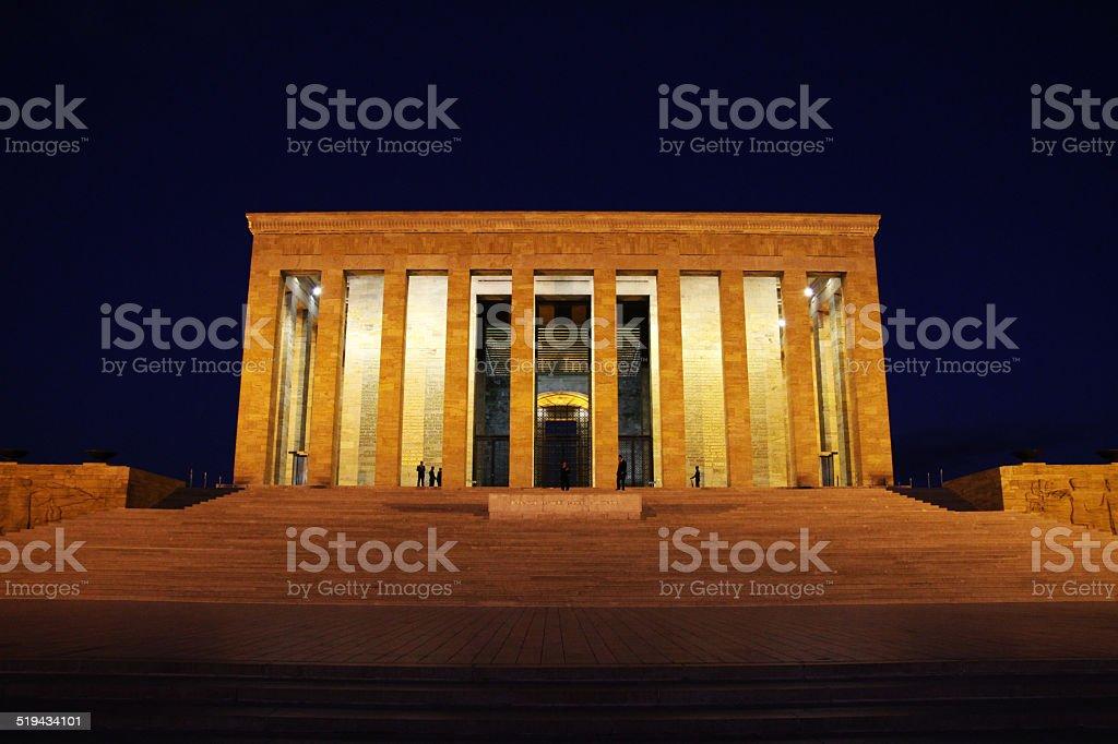 Ataturk's Mausoleum - Stock Image stock photo