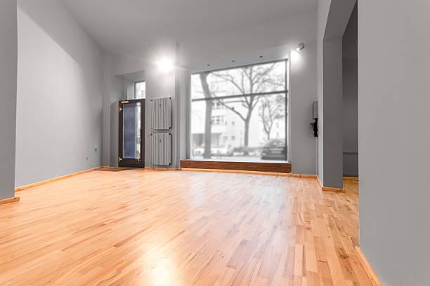 atelier / shop - real estate interior stock photo