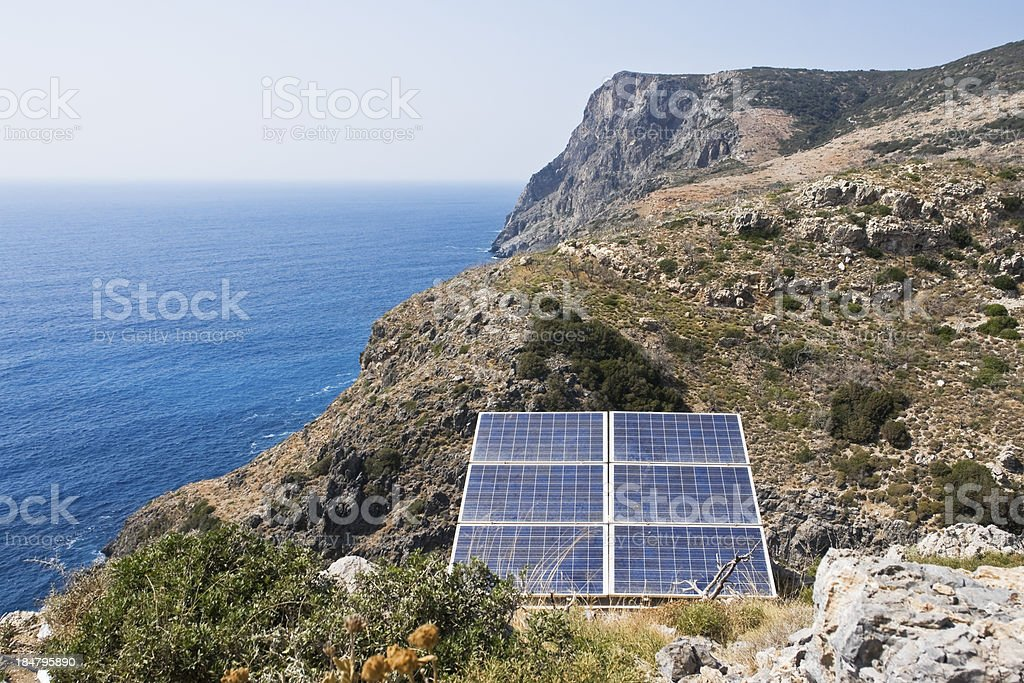 Aternative energy background royalty-free stock photo
