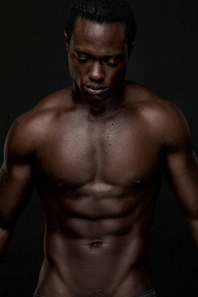 Royalty Free Naked Sexy Black Men Pictures, Images and
