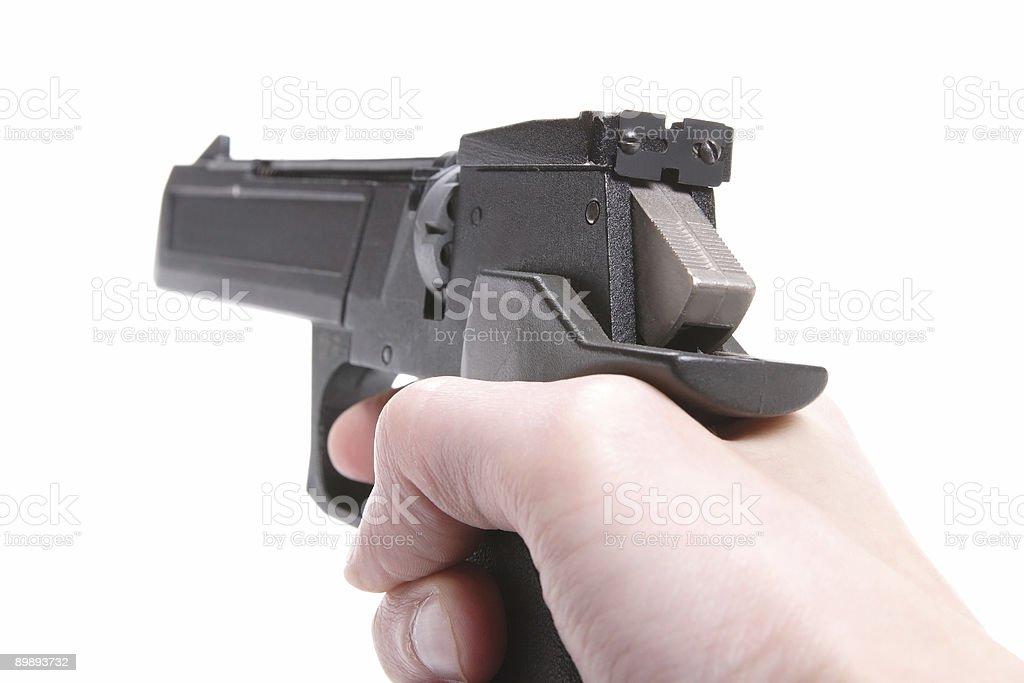 Atheletic Weapon, Gun royalty-free stock photo