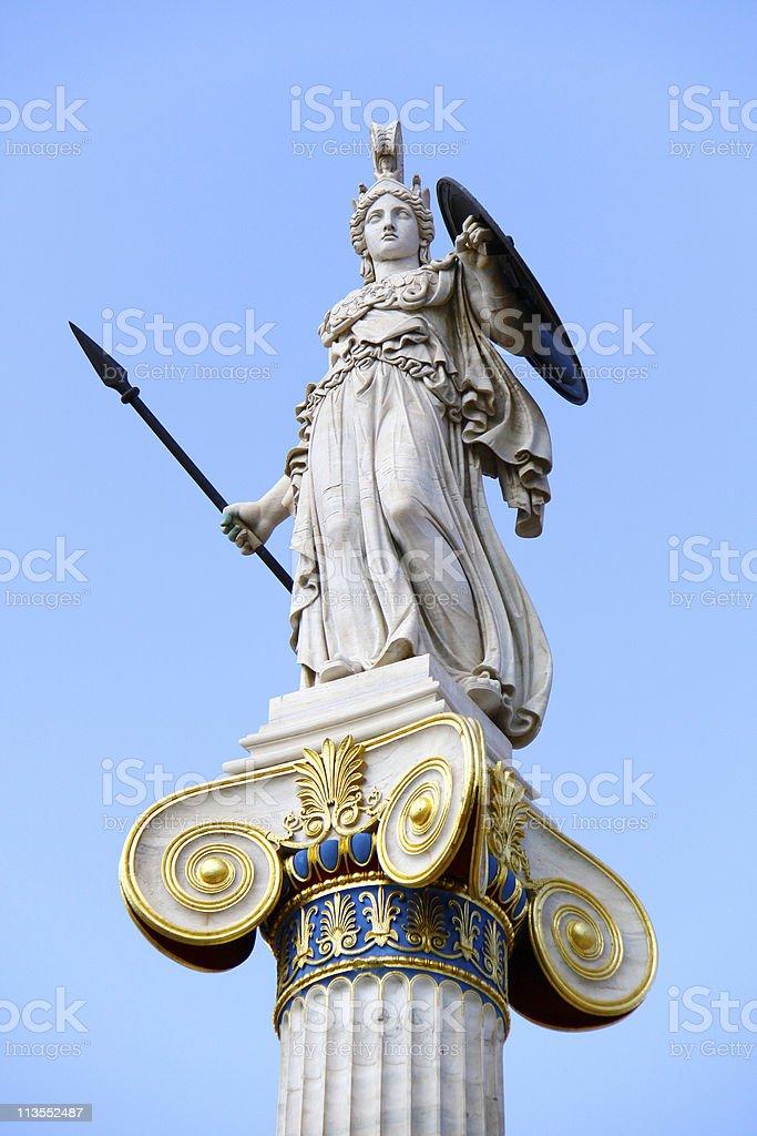 Athena royalty-free stock photo