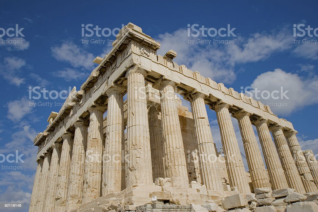 Athens 3 stock photo