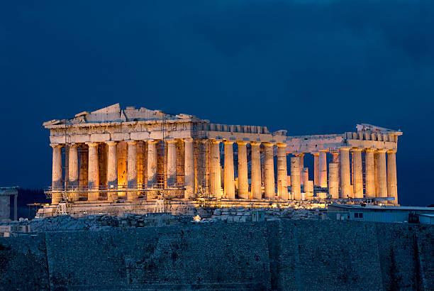 Athen den Parthenon – Foto