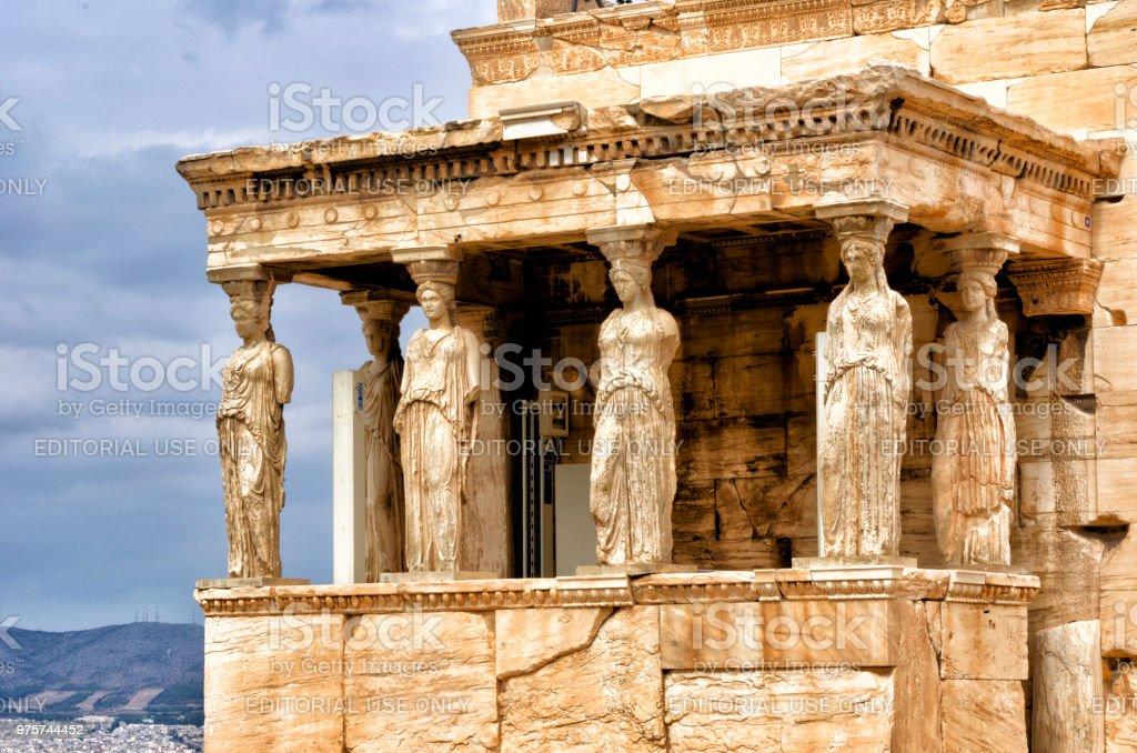 Athen und die Akropolis - Lizenzfrei Akropolis - Athen Stock-Foto
