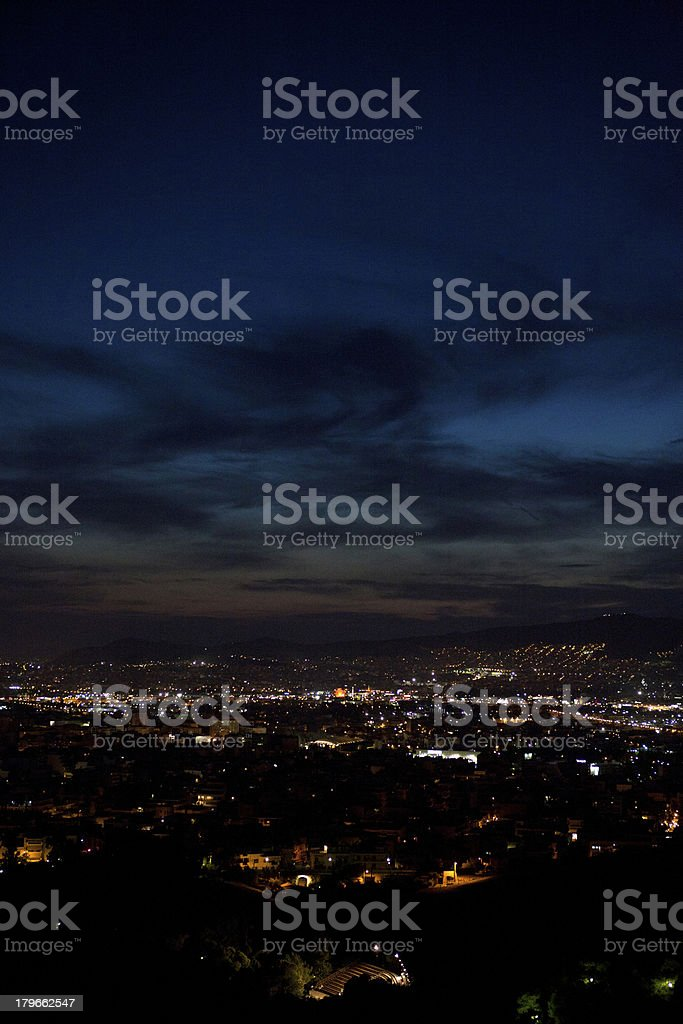 Athens cityscape royalty-free stock photo