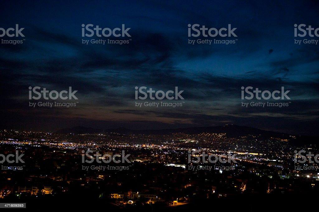 Athens cityscape royalty-free stock photo