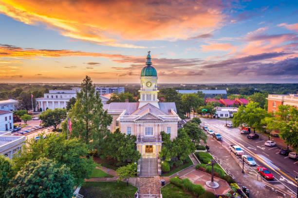 Athens, Georgia, USA City Hall Athens, Georgia, USA downtown cityscape. town hall stock pictures, royalty-free photos & images