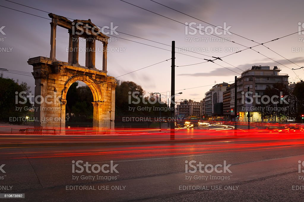 Athens, Greece. stock photo