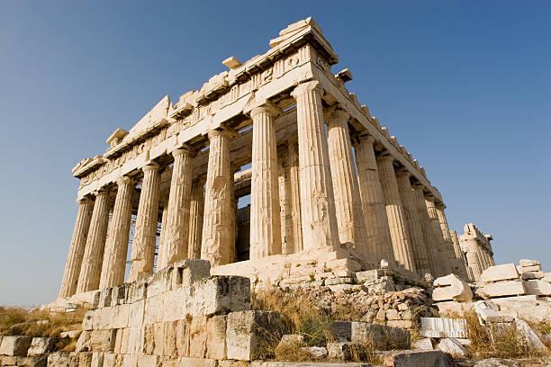Athens, Parthenon at Acropolis stock photo