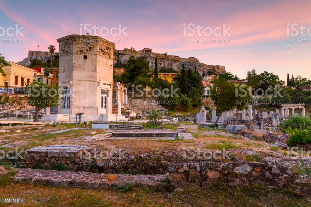 Athens. stock photo