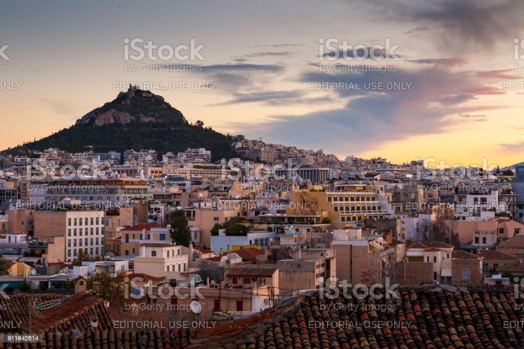 Athens. stock photo