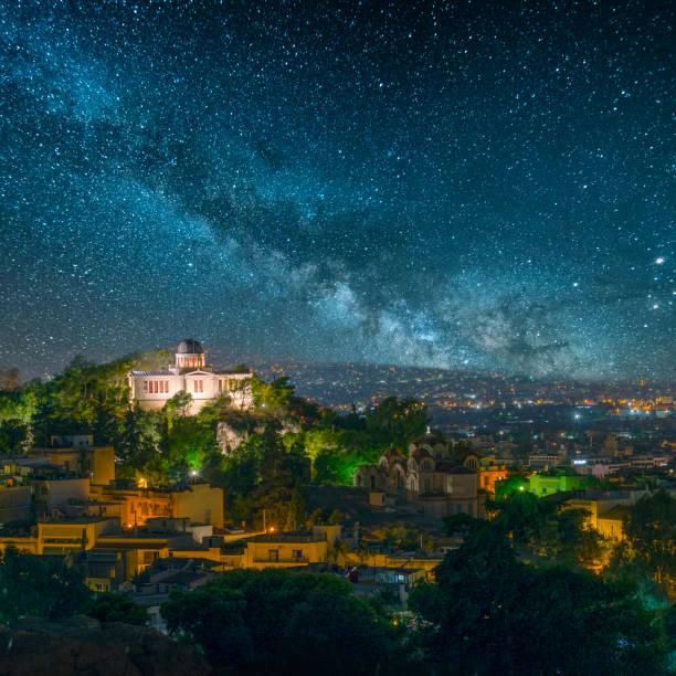Athen unter den Sternen – Foto
