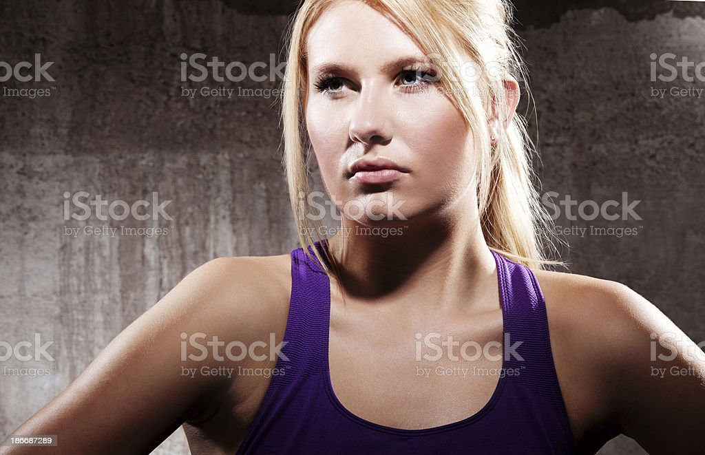 Athlete royalty-free stock photo