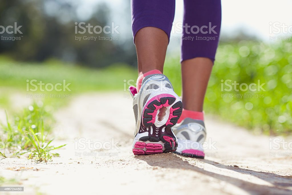 Athlete Running. stock photo