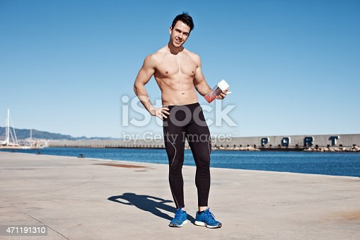 852024650istockphoto athlete with protein cocktail 471191310