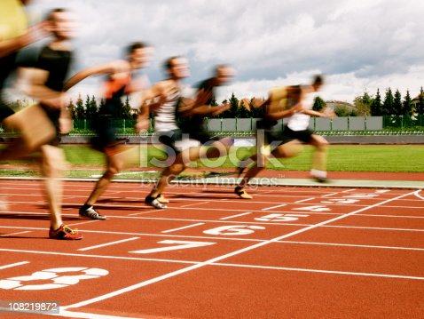 istock Athletes at the finish line 108219872