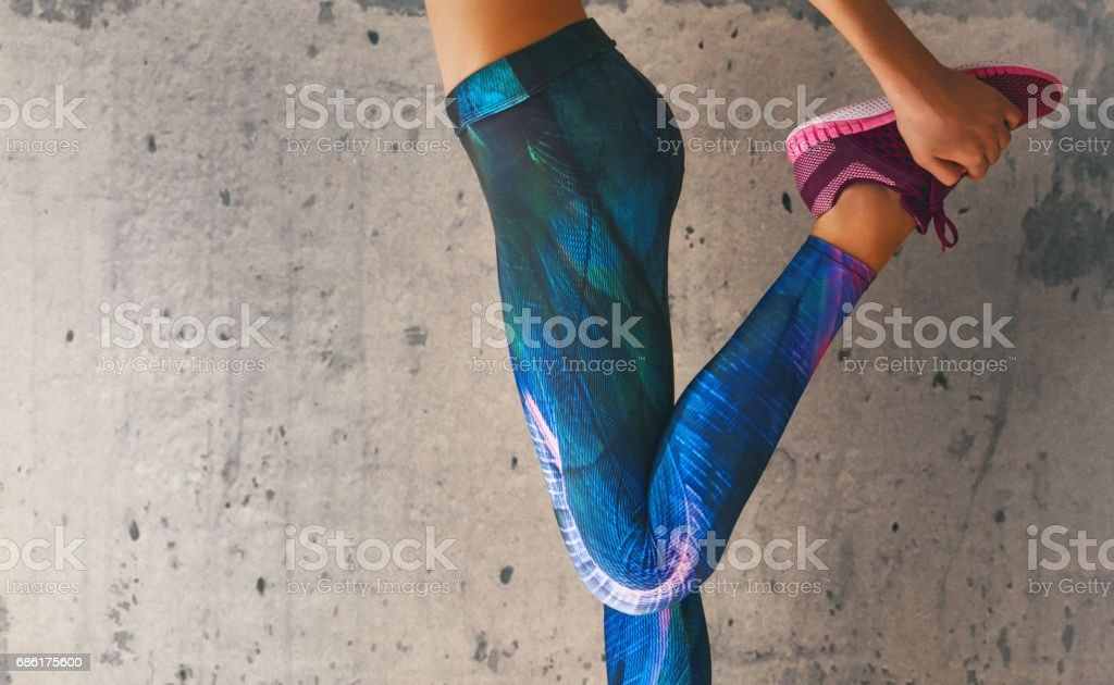 athletes foot close-up - foto stock