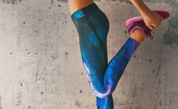 athletes foot close-up stock photo