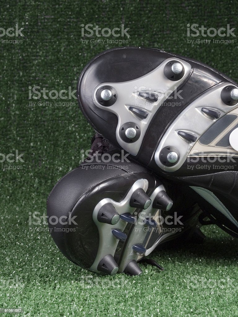 Athletic Cleats royalty-free stock photo