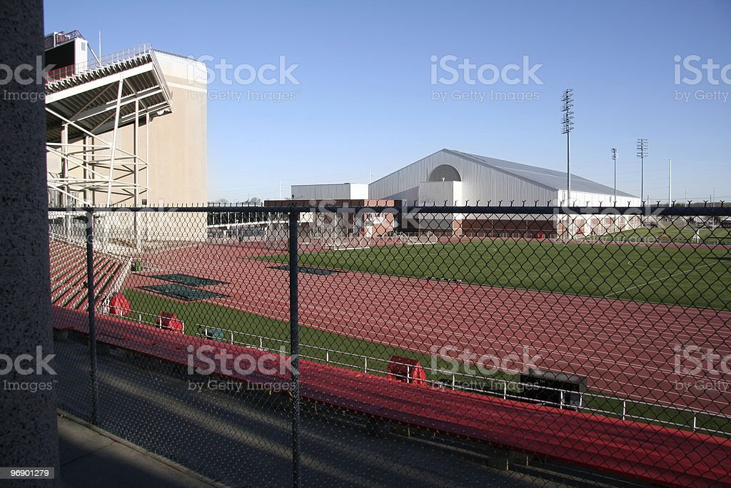 Athletic Complex royalty-free stock photo