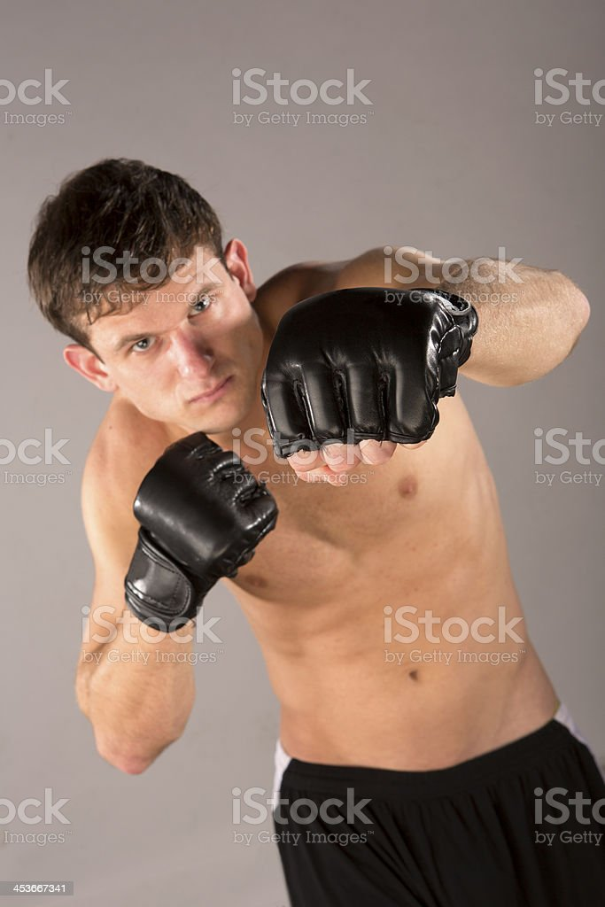 Athletic Male working out royalty-free stock photo