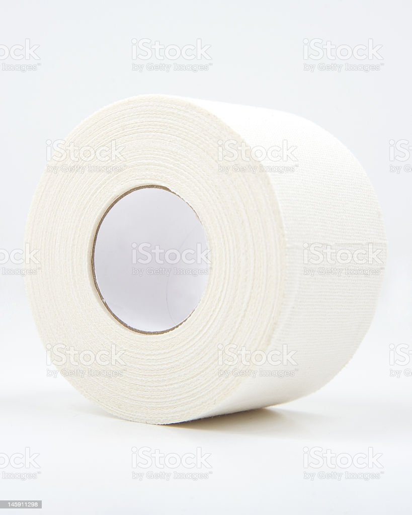 Athletic tape stock photo