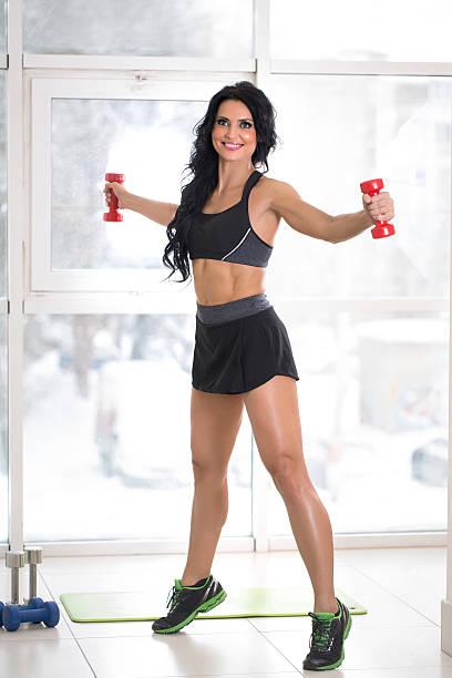 athletic Frau – Foto