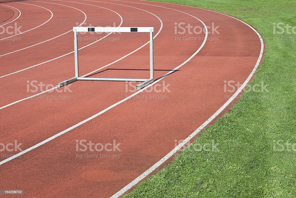 Athletics as Symbol of  Personal Determination royalty-free stock photo