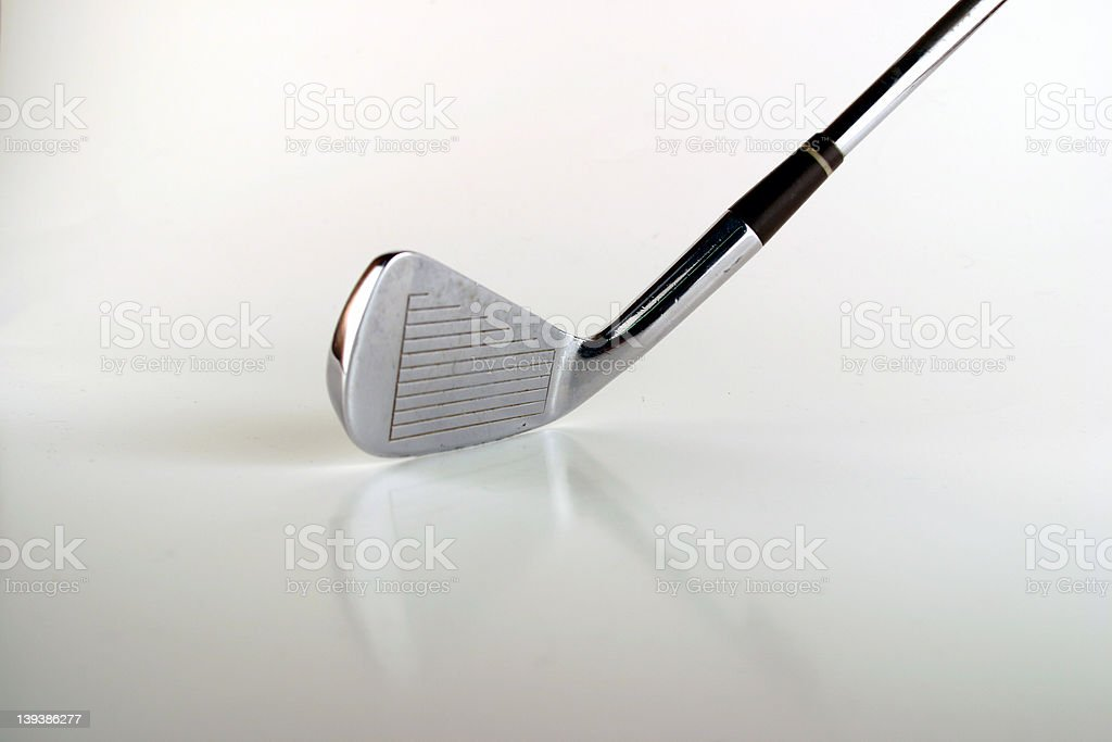 Athletics - Golf Club royalty-free stock photo
