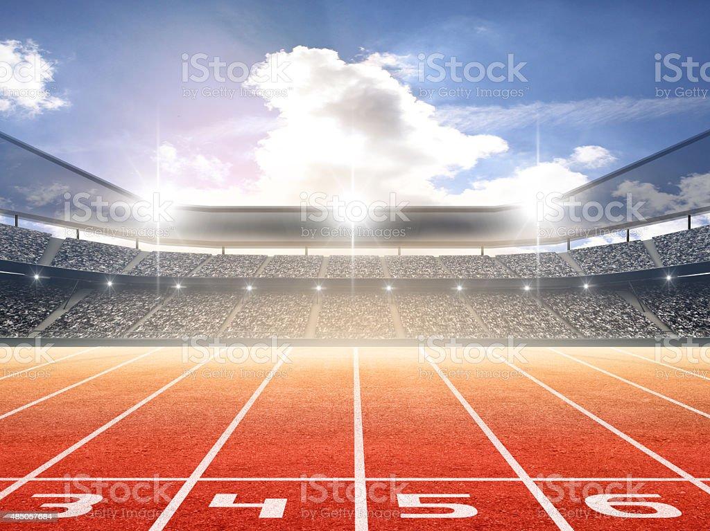 Stade d'athlétisme - Photo