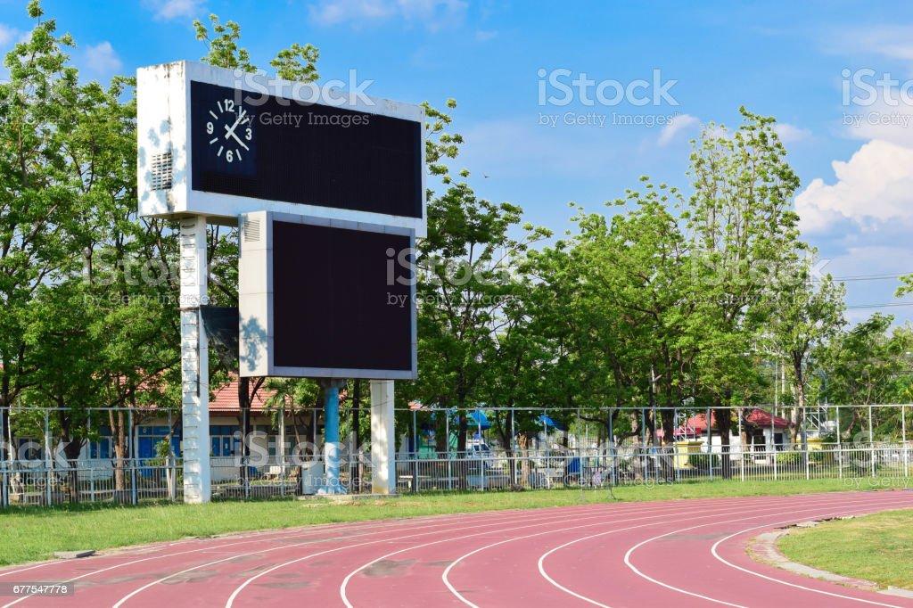 Athletics Stadium royalty-free stock photo