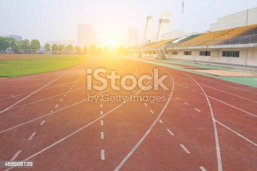 istock Athletics track 488668139