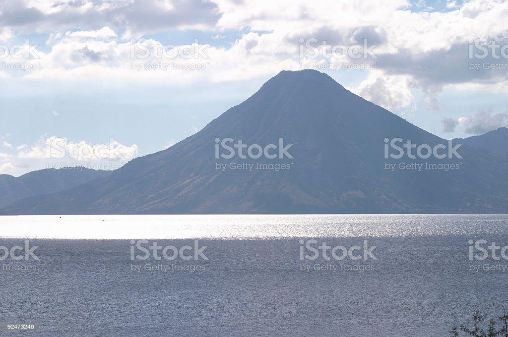 atitilan volcano royalty-free stock photo